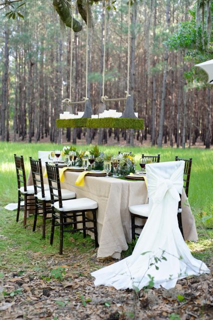 how to  embellish your wedding chairs