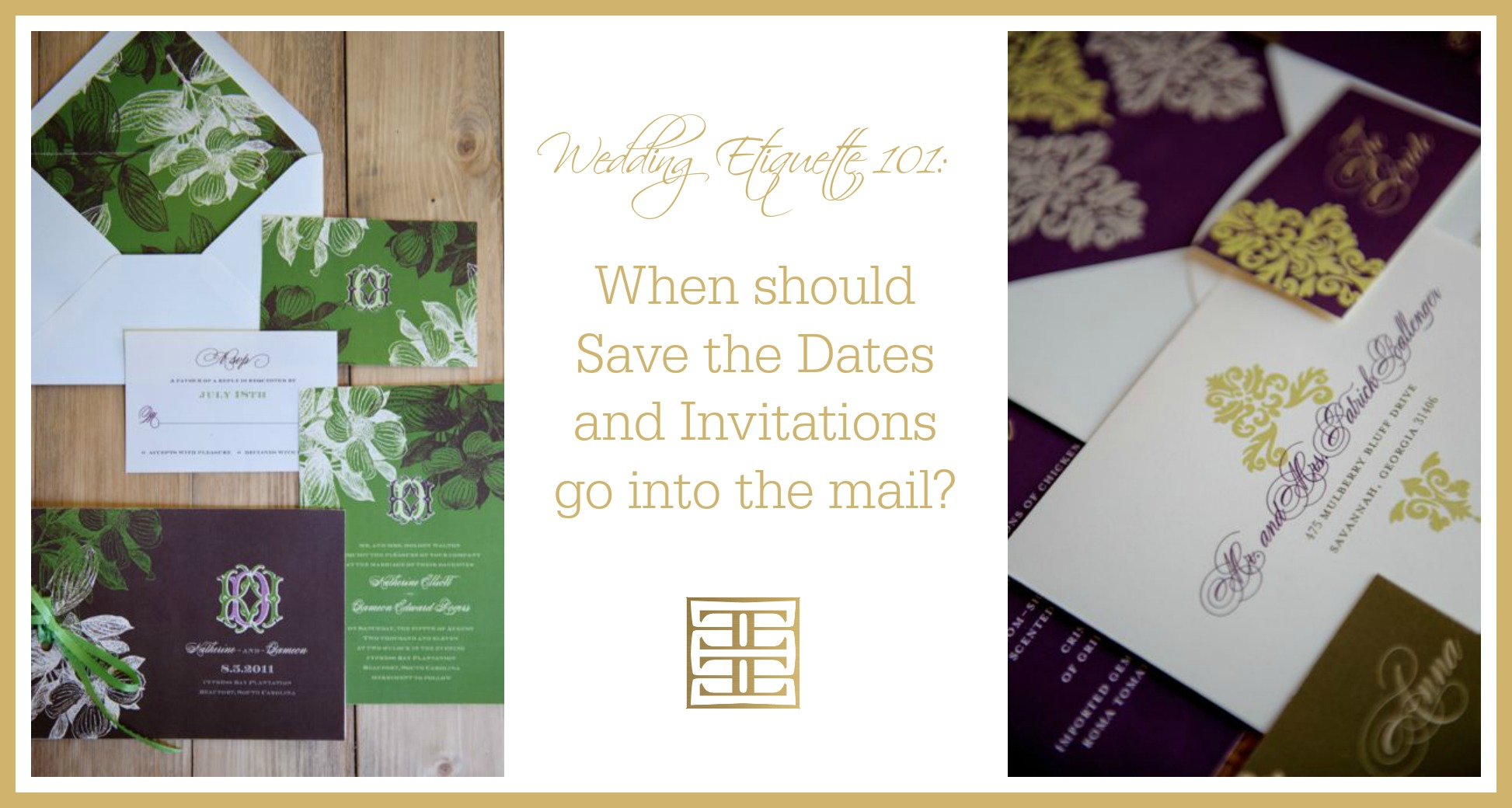 Etiquette 101: When To Send Wedding Invitations? | Wedding Planner ...